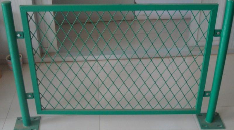 Railway Expanded Mesh Fence