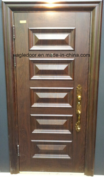 Best Price Security Exterior Steel Iron Door (EF-S076)