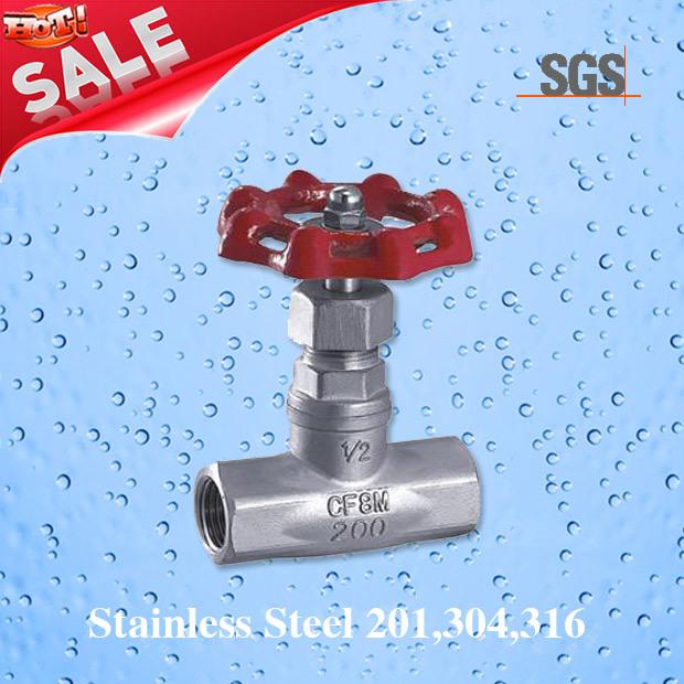 Female Stainless Steel Needle Valve, Stainless Steel J23W Needle Valve