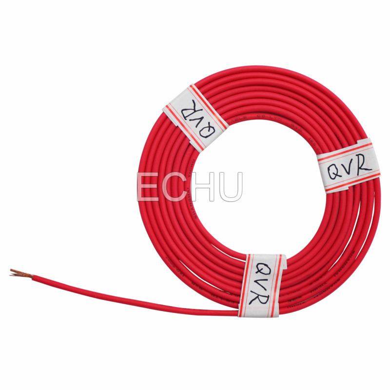 QVR PVC Auto Cable, Low Voltage Wire of Automotive Used