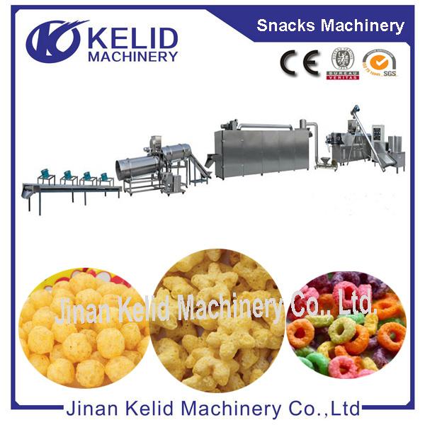 Multifunctional Hot Selling Automatic Puffed Snacks Machine