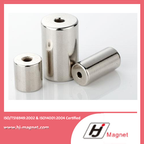 Super Strong Customized N35-N52 Ring Neodymium Permanent Magnet with Free Sample