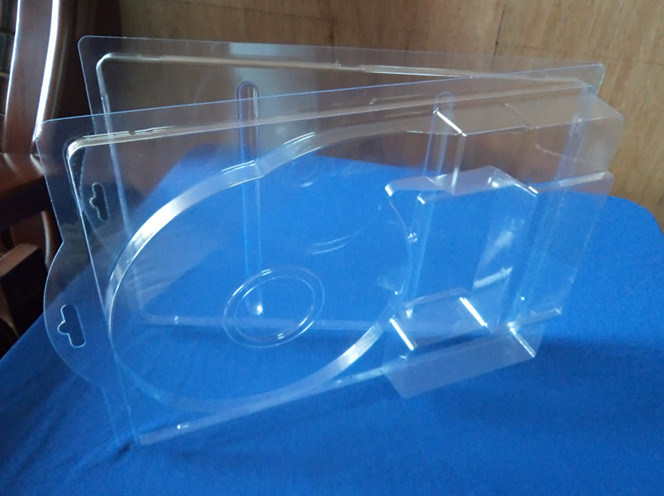 Clamshell Box for Packing LED Lights Clear PVC Blister Packing Box for LED Linght