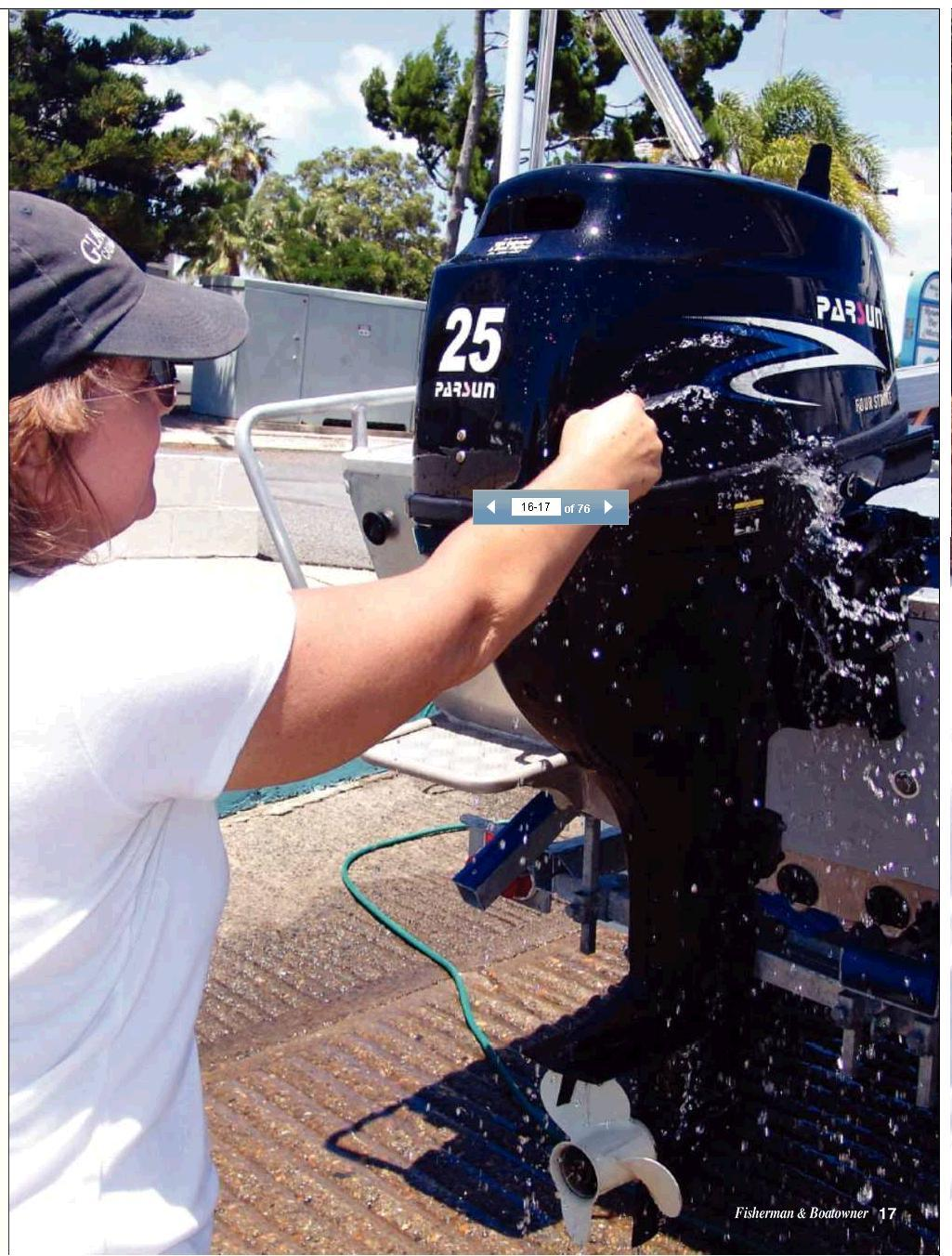 High Performance 25HP 4-Stroke Outboard Motor