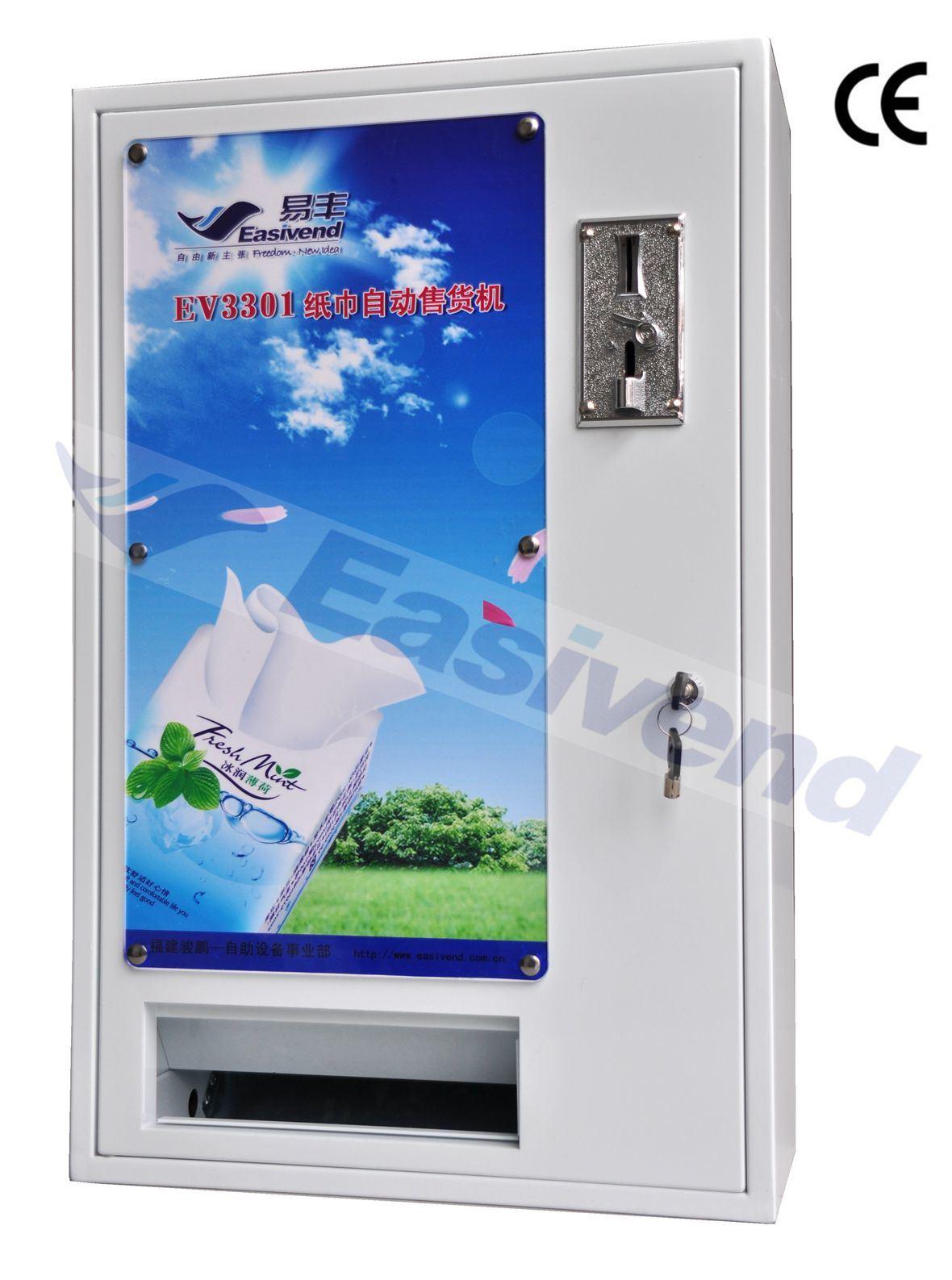 Tissue/Box Vending Machine