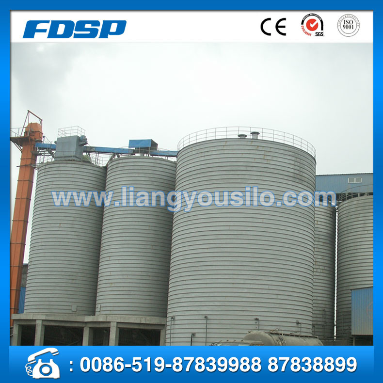 CE& Trade Assurance Grain Silo with Ventilation
