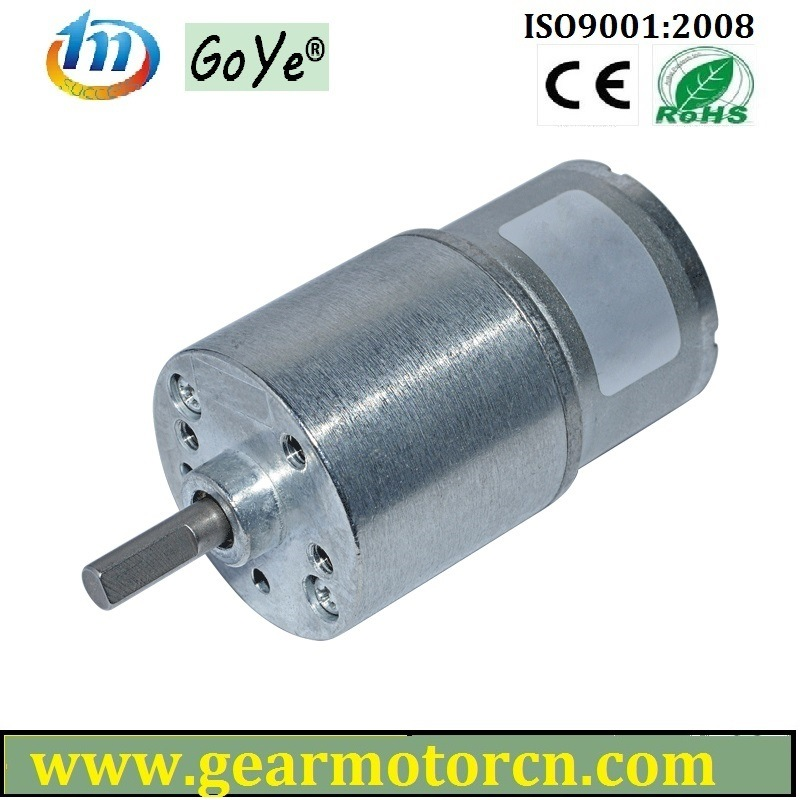 for Electronic Lock and Safe Industrial Round Motors Diameter 27mm DC Gear Motor