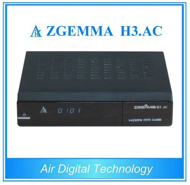 ATSC DVB-S2 Moduel Zgemma H3. AC Full HD 1080P Satellite Receiver
