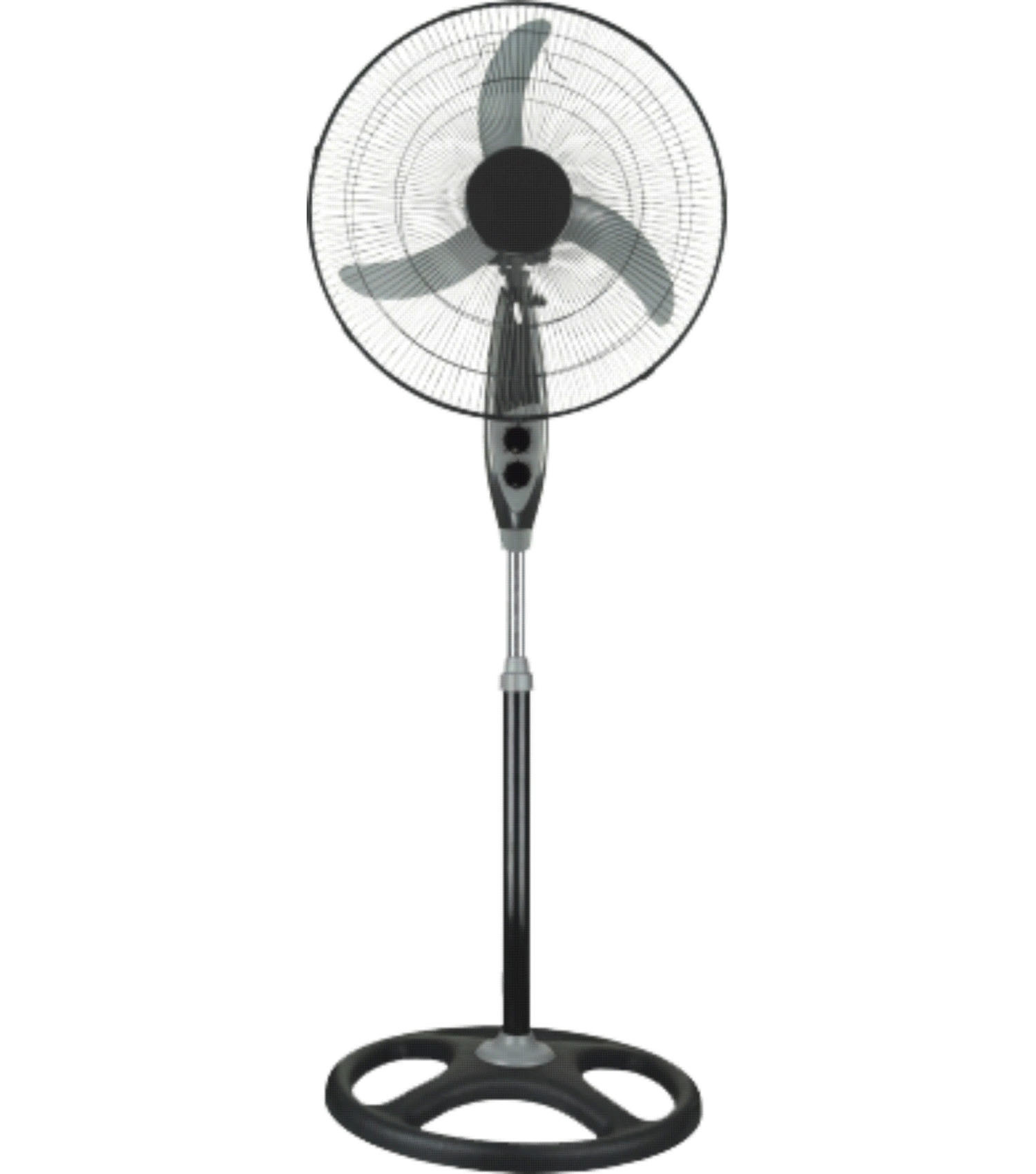 Chinese Fan Stand : China pedestal fan standing fancy stand