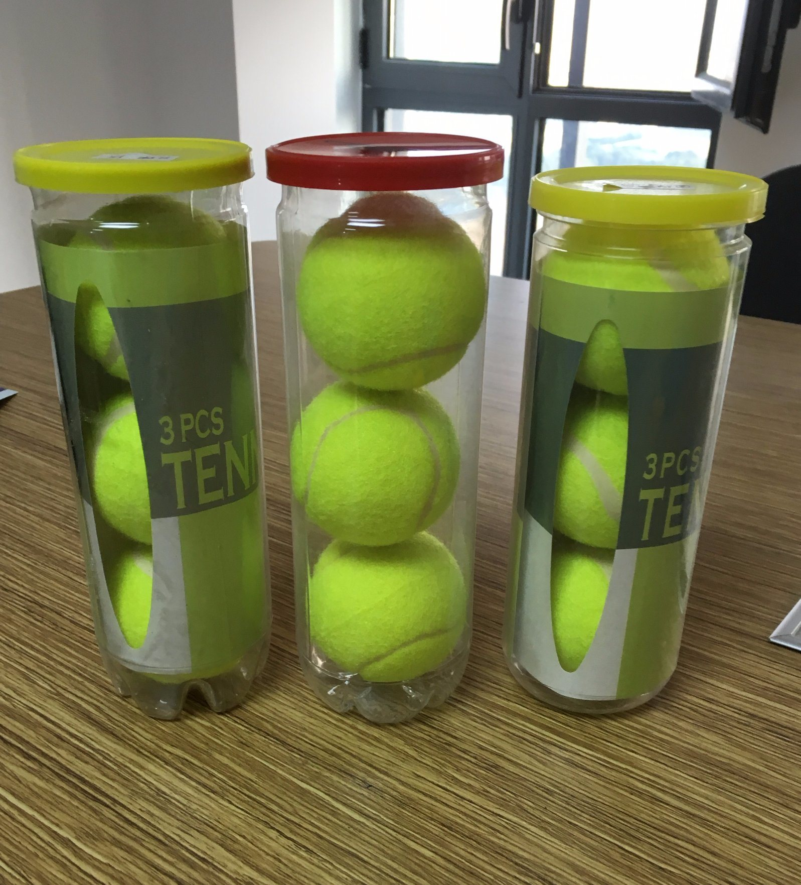 High Quality 3PCS Tin Packing Tennis Ball