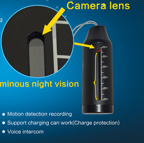 Mini WiFi Camera IP HD Len Night Vision in Kettle