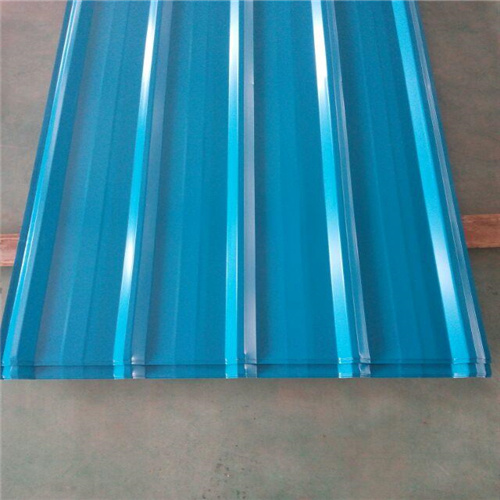 Color Coated Galvanized Steel Corrugated Plate Roofing Material