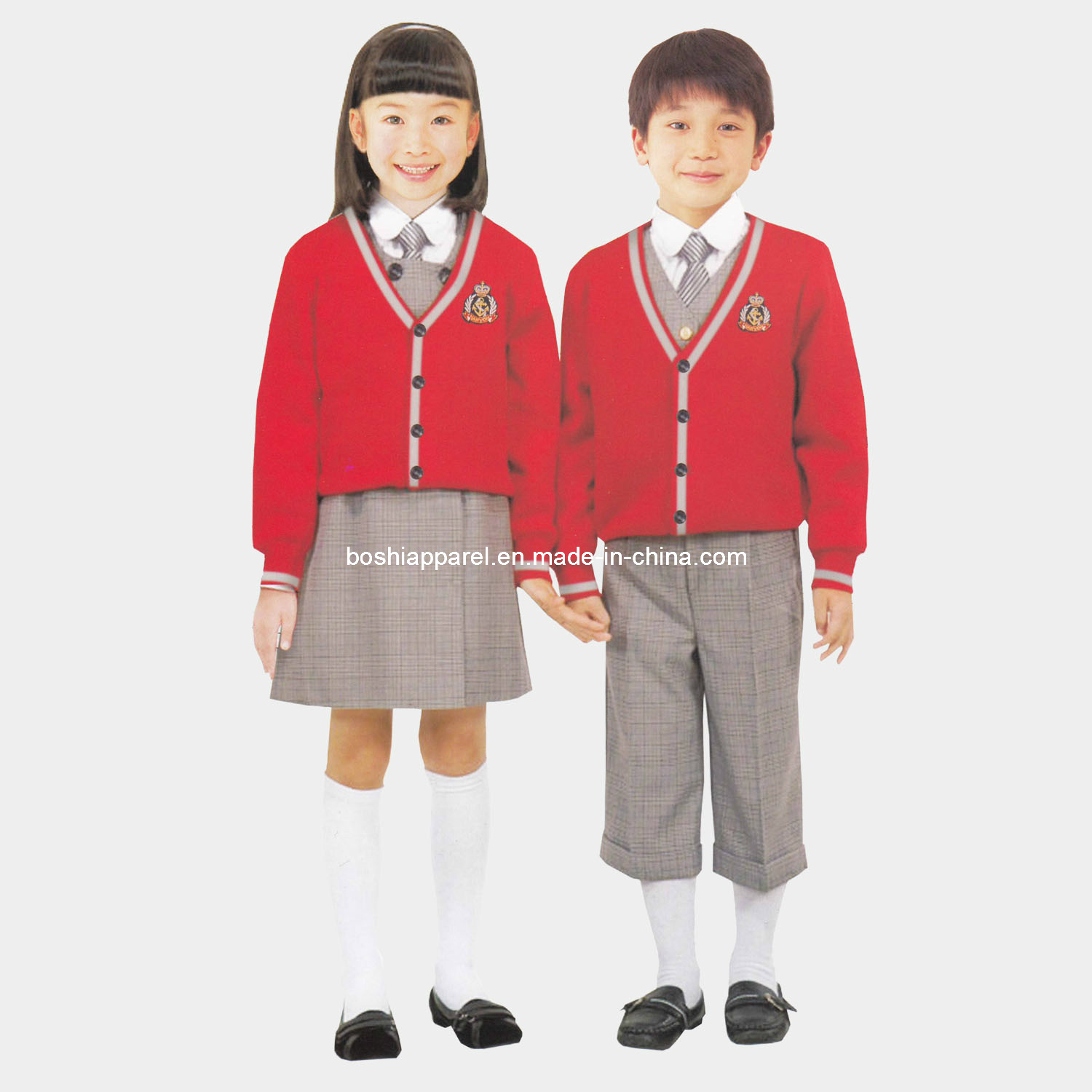 2013 Custom Design School Uniforms, Kid's Clothes (LA-X049)