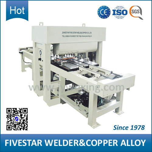 Automatic Multi Spot Welder for Anti-Static Steel Floor Board