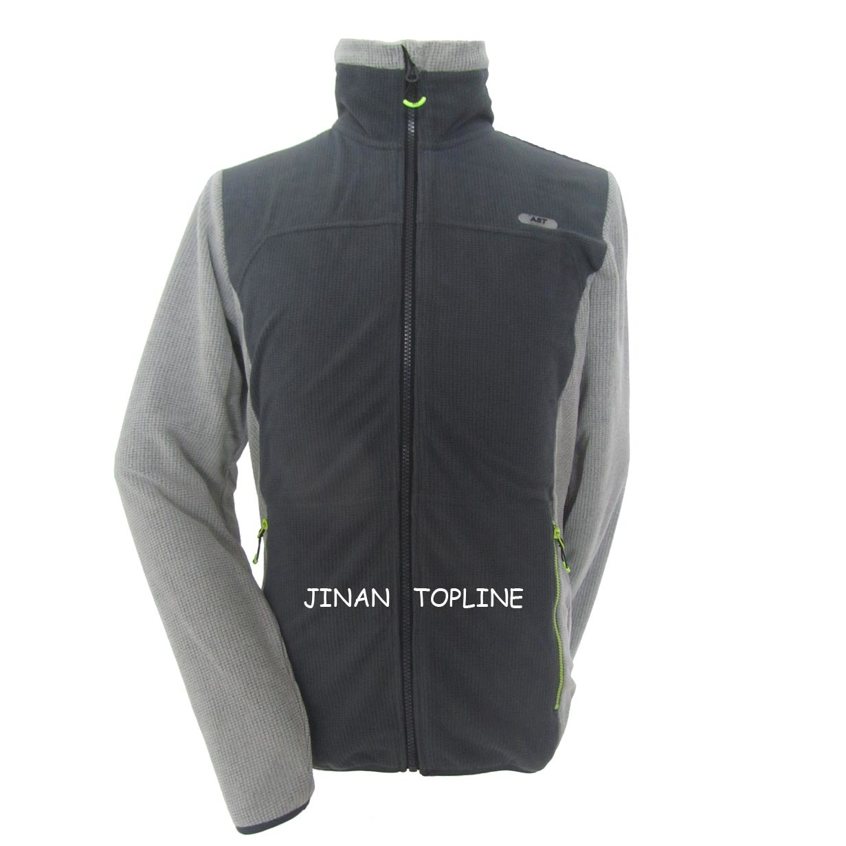 Men Spring/Autumn Micro Fleece Stitching-Color Leisure Jacket