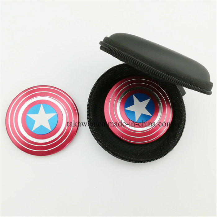 American Captain USA Hand Spinner on Hot Sale Fidget Spinner