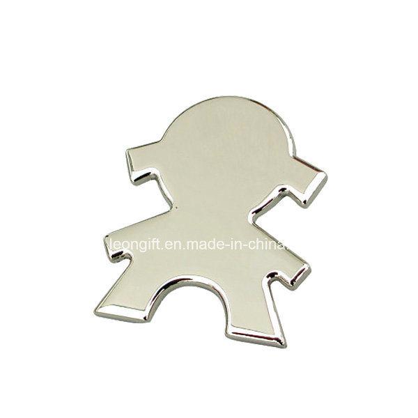 Zinc Alloy Metal Fridge Magnet for Souvenir