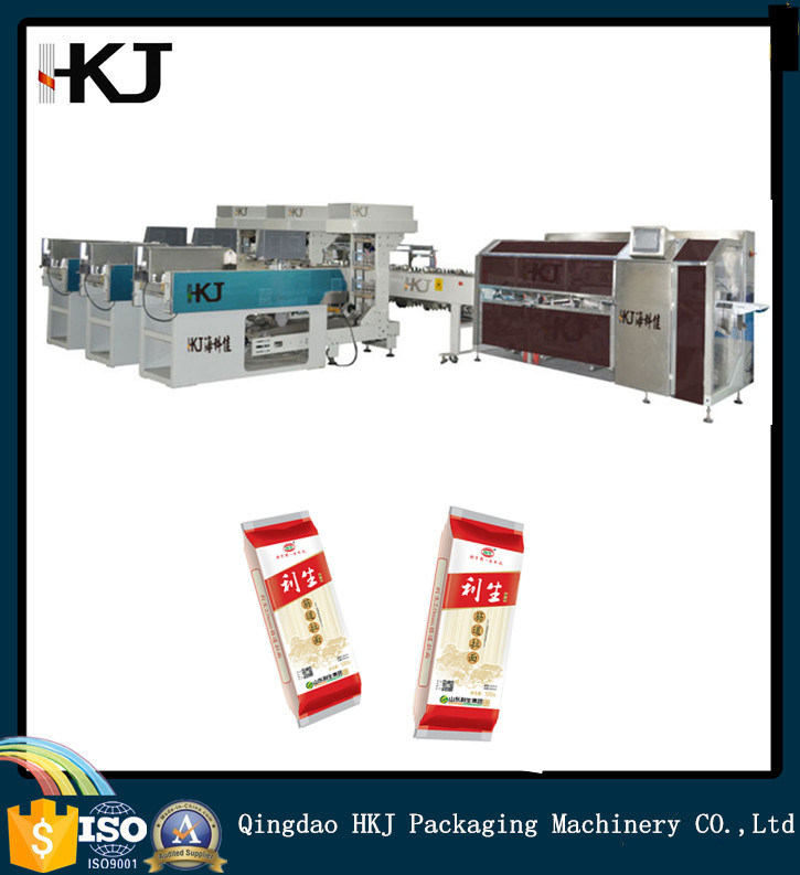 Full Automatic M-Shaped Bag Automatic Noodle Packing Machine