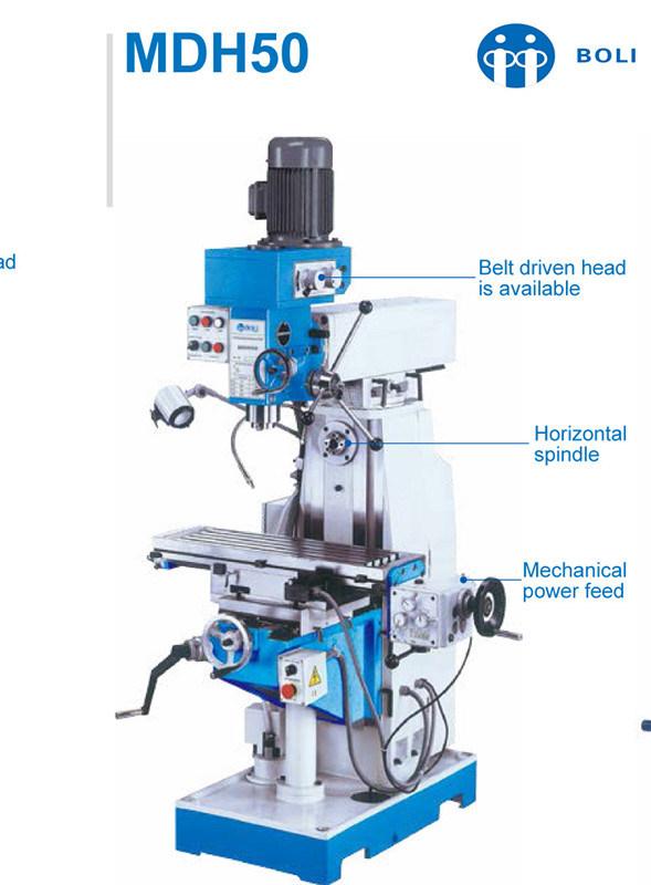 MD50/Mdh50/Mdh60 Milling Machine