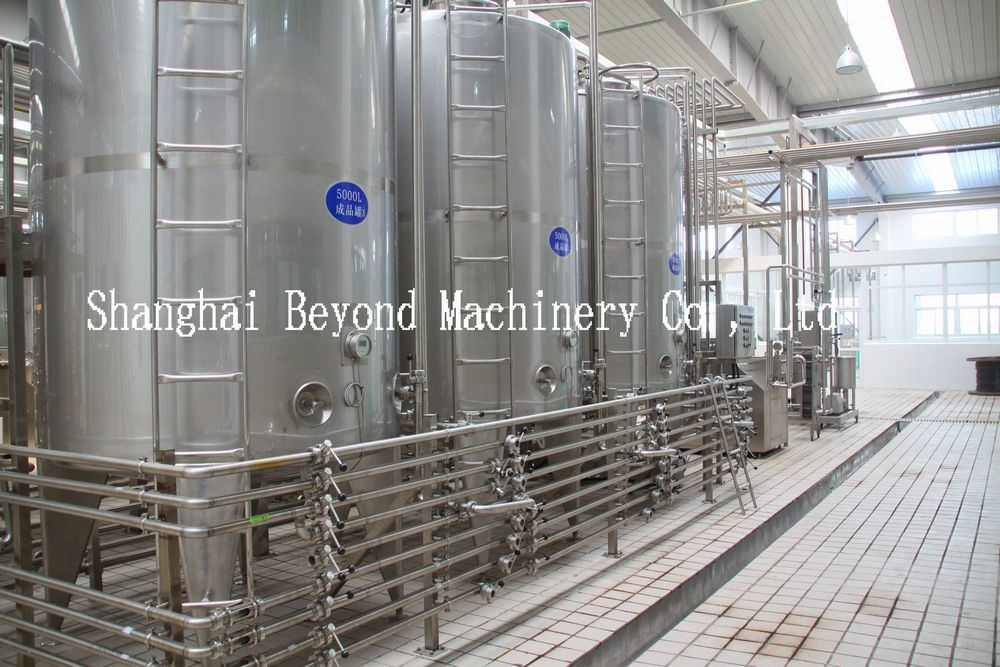 Turnkey Dairy Production Line (500L-500000L/D)