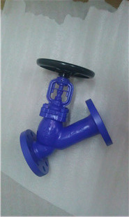 Cast/Carbon Steel DIN Y-Type Bellows Seal Globe Valve