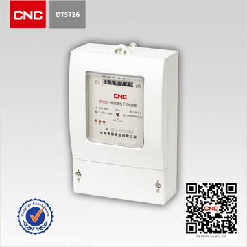 Three-Phase Electronic Multi-Rate Watt-Hour Power Energy Induction Smart Meter (DTS726, DSS726)
