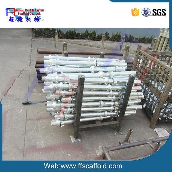 48.3*3.25 Galvanized Steel Scaffolding Cuplock System Scaffold