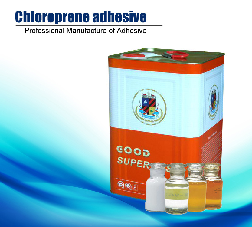 Cr Type Synthetic Chloroprene Rubber Adhesive for Decoration (HN-991)