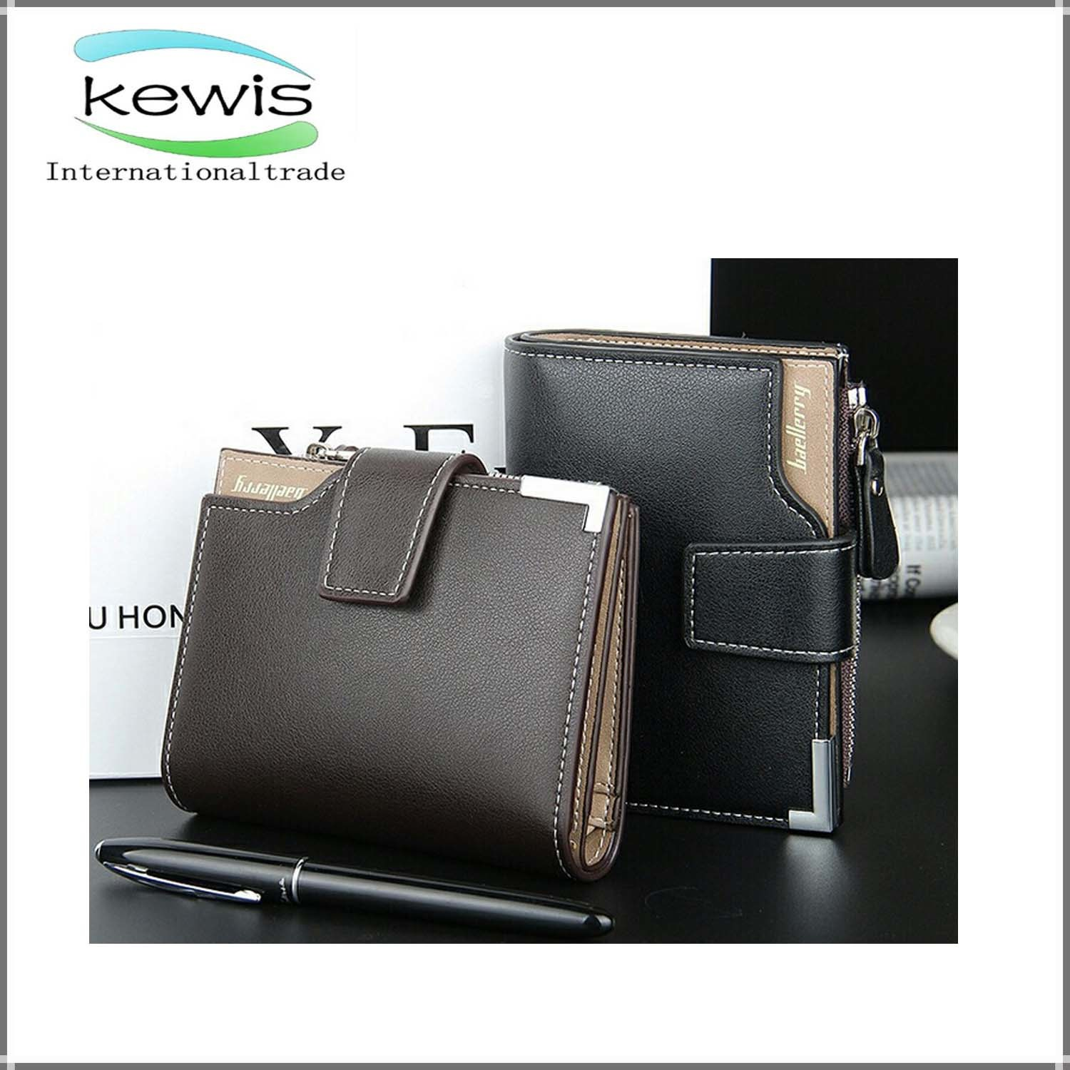 High Quality RFID Blocking Leather Business Men Wallet