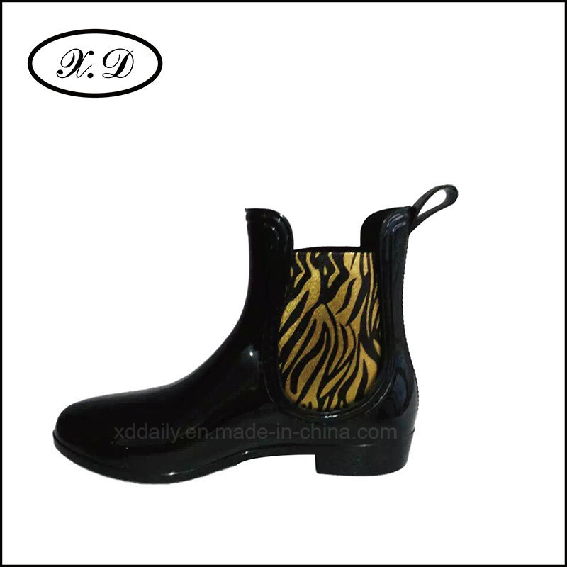 Color Rain Fashion Boots for Woman