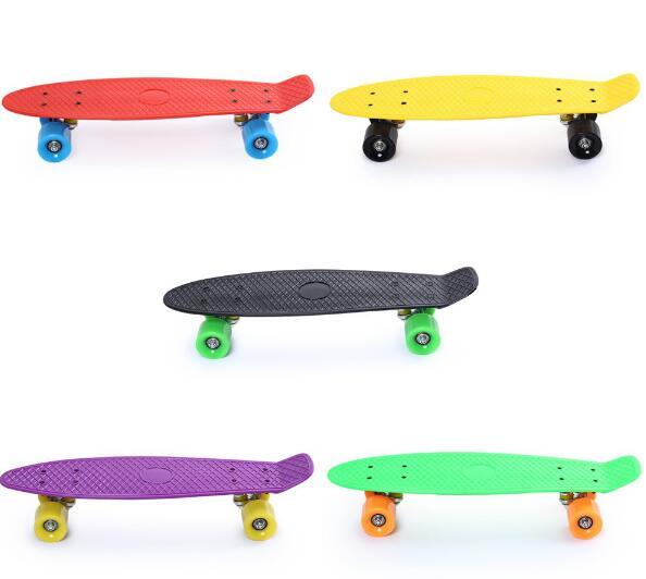 Wholesales Cruiser Fish Board Skate Four Wheels Skate Board