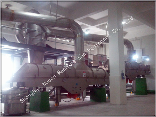 Linear Vibrating Fluid Bed Drying Machine