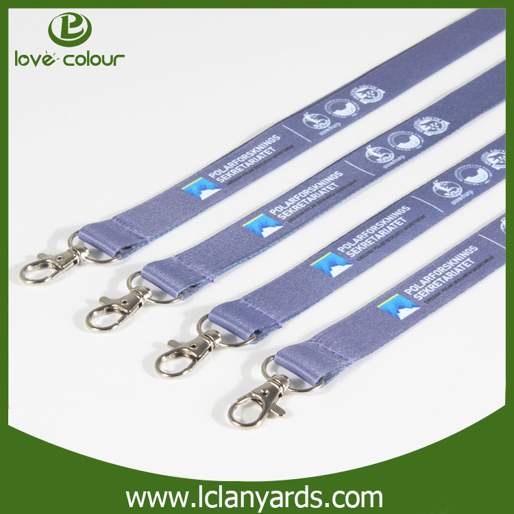 Charm Custom Polyester Printed Lanyard for Office and Exhibition