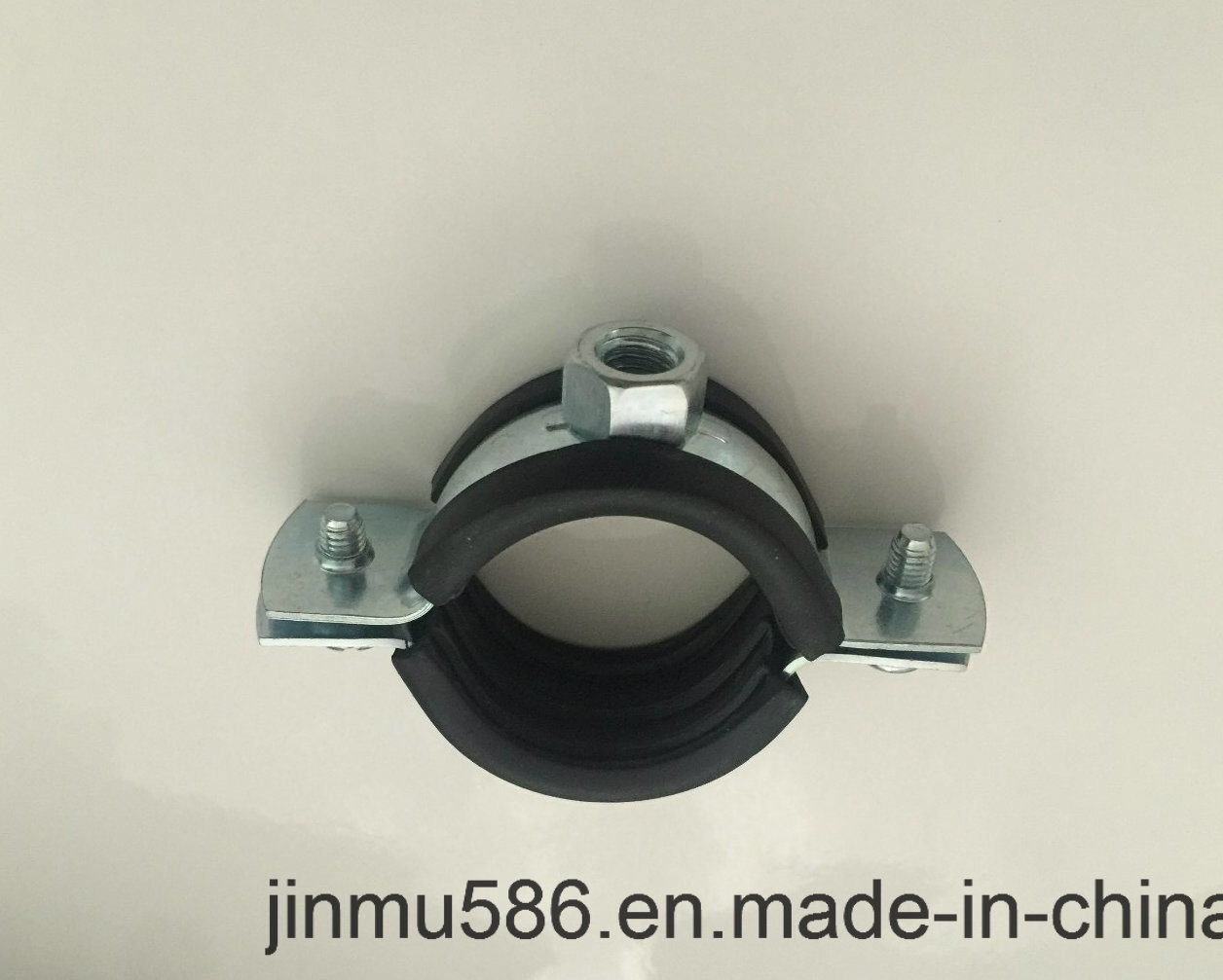 Pipe Clamps with Rubber or Without Rubber