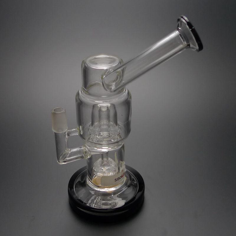 D&K New Design Glass Smoking Water Pipe