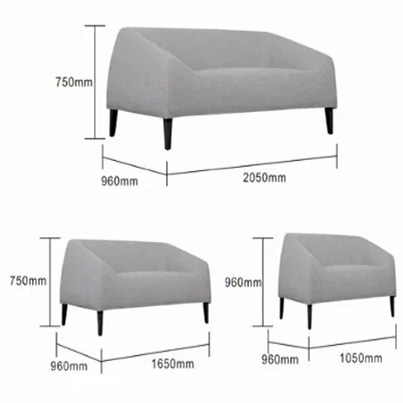 New Arrival Simple Fabric Sofa Modern Living Room Sofa