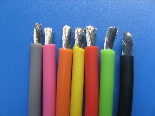 Silicone Rubber Insulated Cable with 3AWG