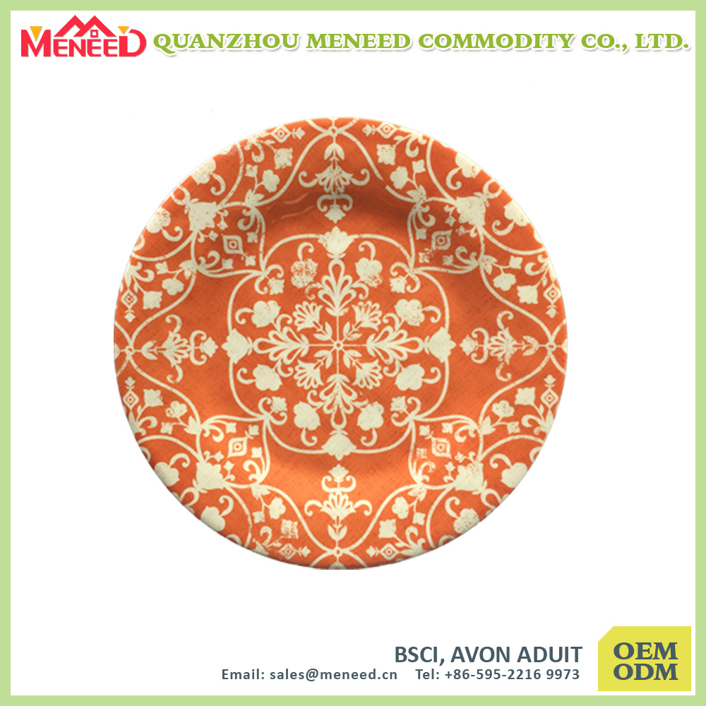 Ceramic Like Top Grade China Melamine Dishes