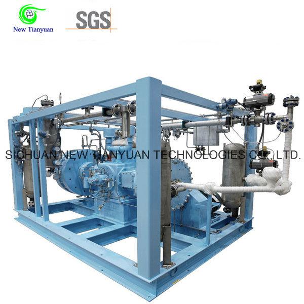 150nm3h Volume Flow Acetylene Diaphragm Gas Compressor