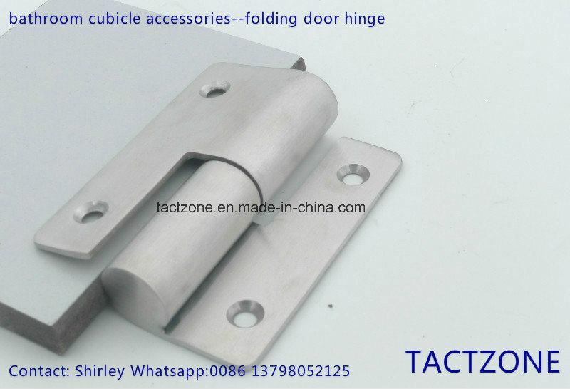Pure Public Toilet Partition Accessories Folding Door Stainless Steel Door Hinge