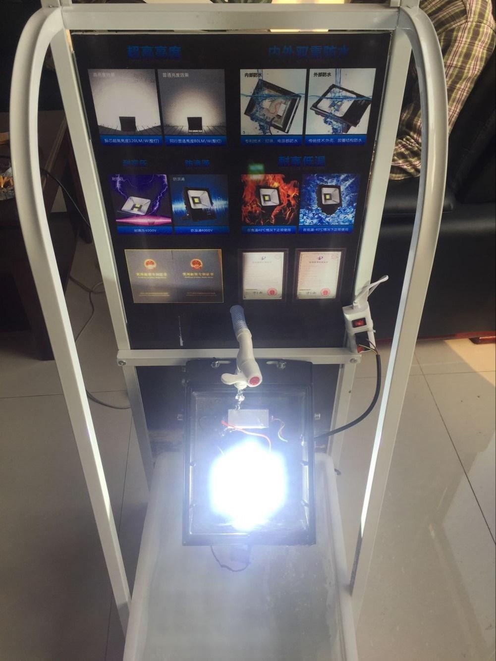 150W IP67 LED Floodlight, AC85-265V Compatible Ce RoHS