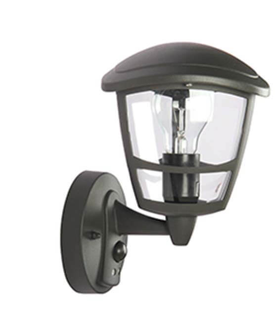 E27 60W Ce/RoHS Outdoor Wall Light with Sensor