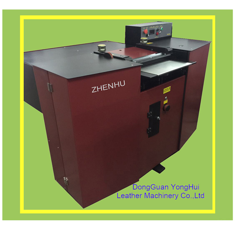 Band Knife Automatic Feeding Leather Rubber Splitting Skiving Machine (S420C)