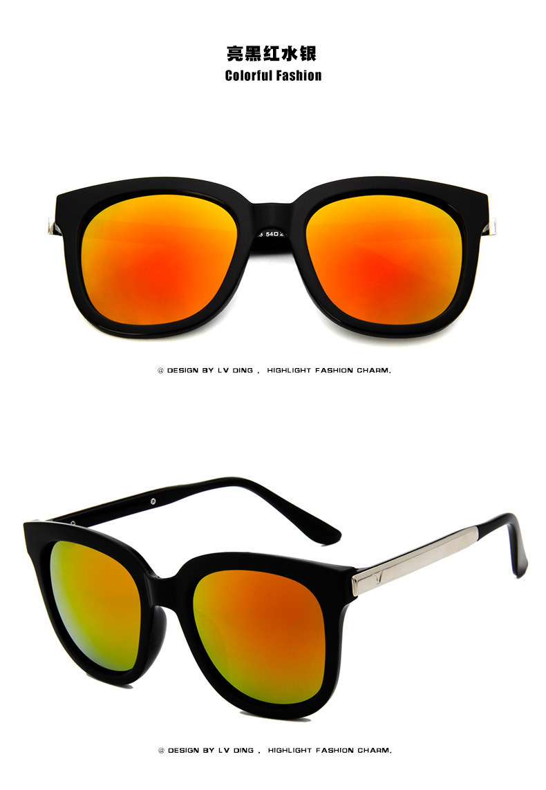 Women Men Glasses Vintage Designer Eyewear Sunglasses