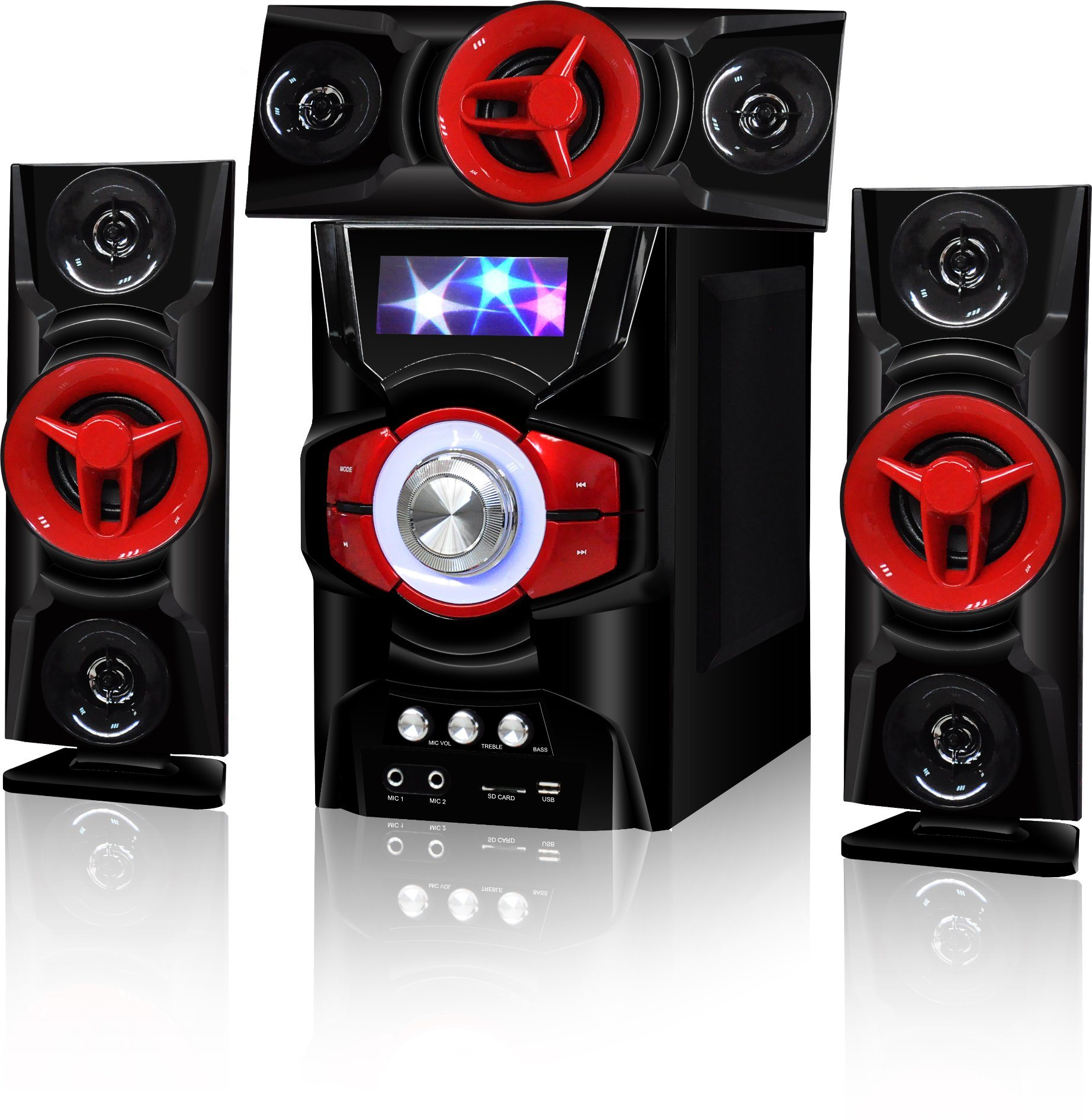 3.1 Home Theater Multimedia Audio Speaker with Bluetooth