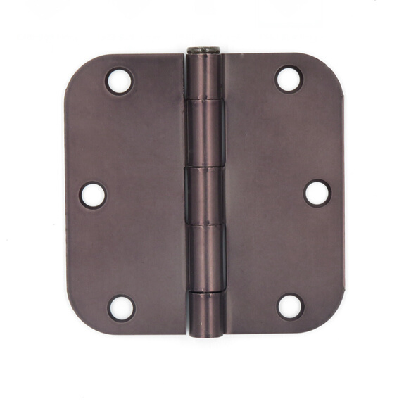 Five Knuckle Radius Corners Removable Pin Butt Hinge Door Hinge