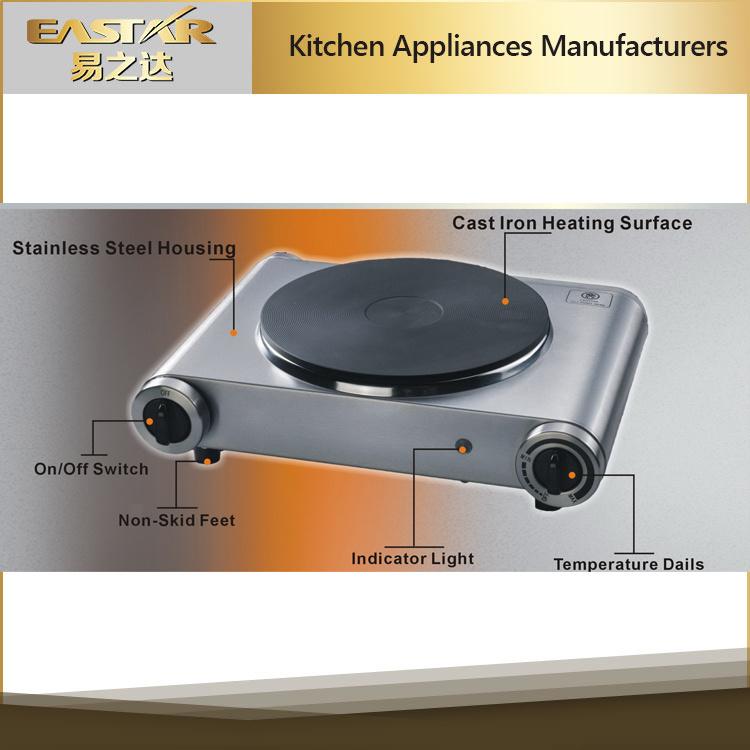 Stainless Steel Housing Single Burner Hotplate