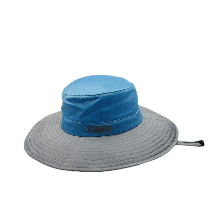 Custom Fashion Fishing Man Bucket Hat Wide Brim Summer Men Caps