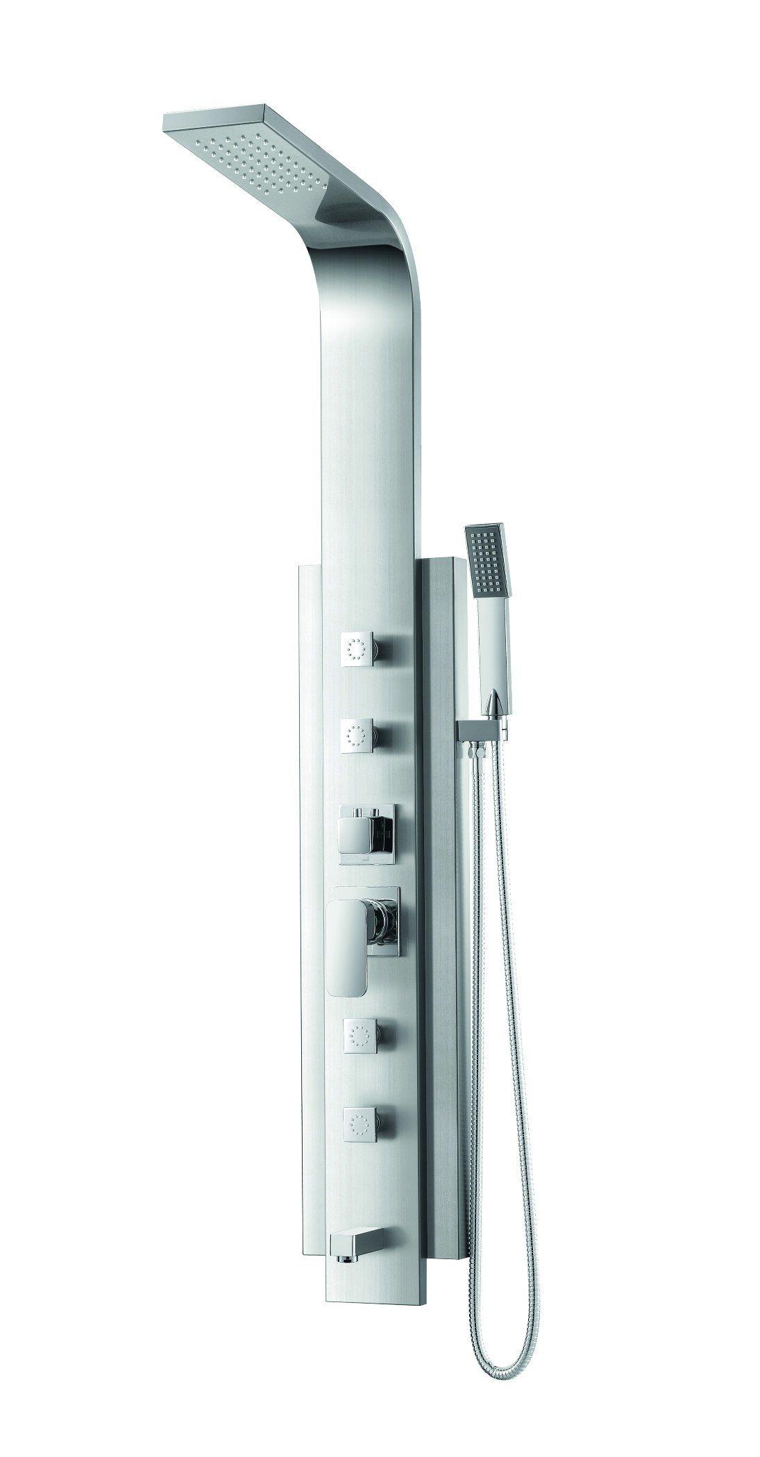 (K2212-2) Stainless Steel Shower Panel / Shower Column
