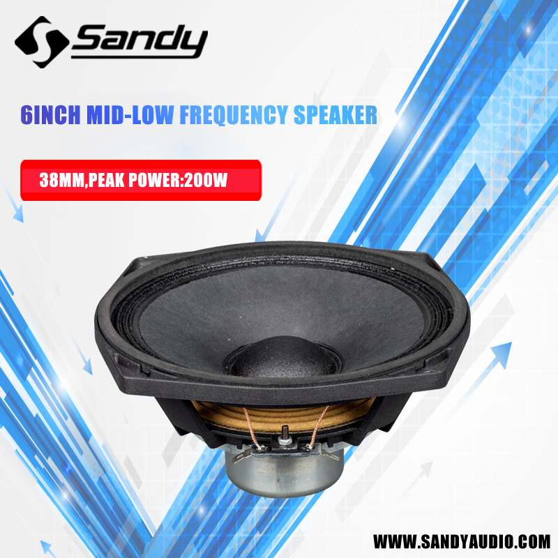 Active PRO Speaker Subwoofer Loudspeaker Nv6